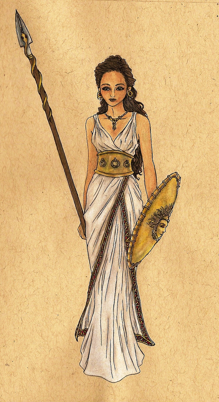 Athena by bluedemondc
