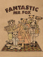 Mr. Fox in Color by bluedemondc