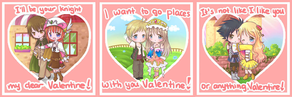 Happy Valentine Day Cards Atelier Version~ By Risocaa ...