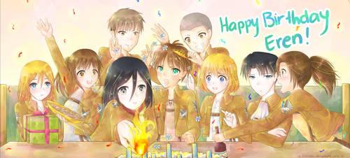 Happy birthday Eren!!! :D