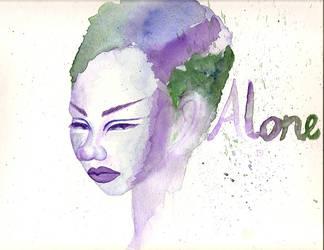 Alone by veyeone