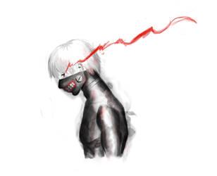 Tokyo Ghoul by veyeone