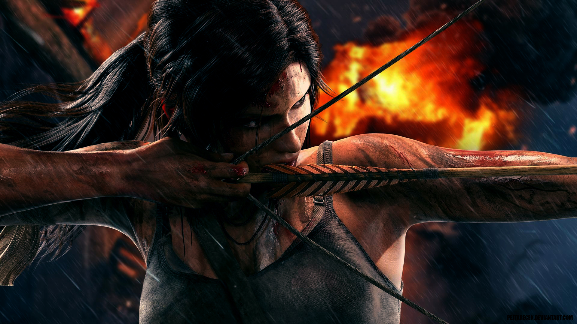 Tomb Raider 2013 Wallpaper: Lara Croft Tomb Raider 2013 Wallpaper By Pejtarecek On