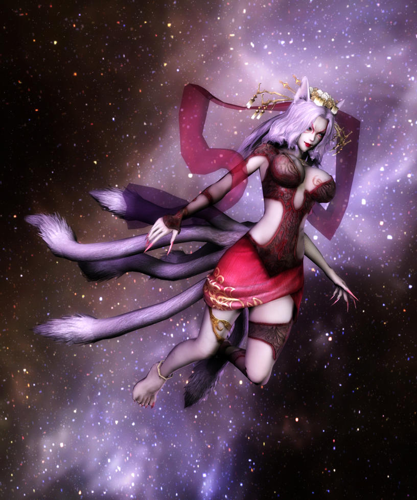 Warriors Orochi 3 9 Tails: Kyubi-no-kitsune By Majolica-Majorca On DeviantArt