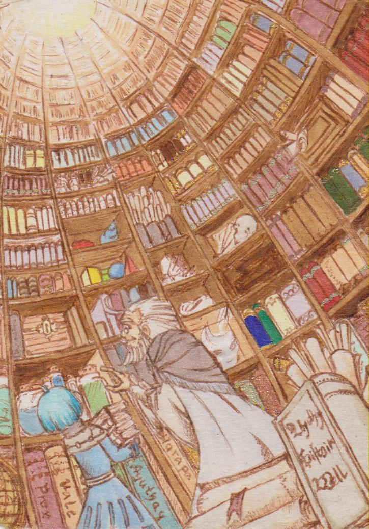 The bibliotheca by Illien-chan