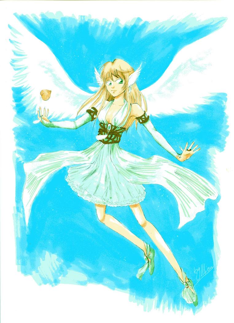 Angel Girl Spiel 2015 by Illien-chan