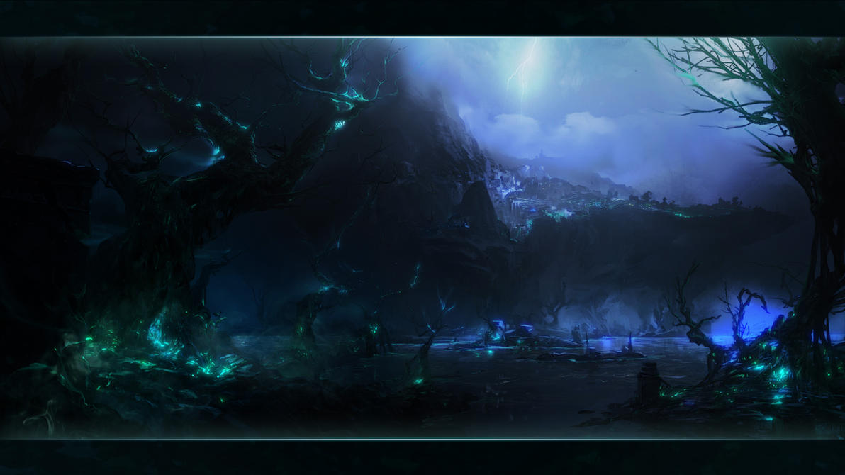 Shadow Isles - League of Legends by PheoniX-VII