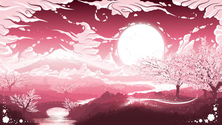 Land of the Cherry Blossoms