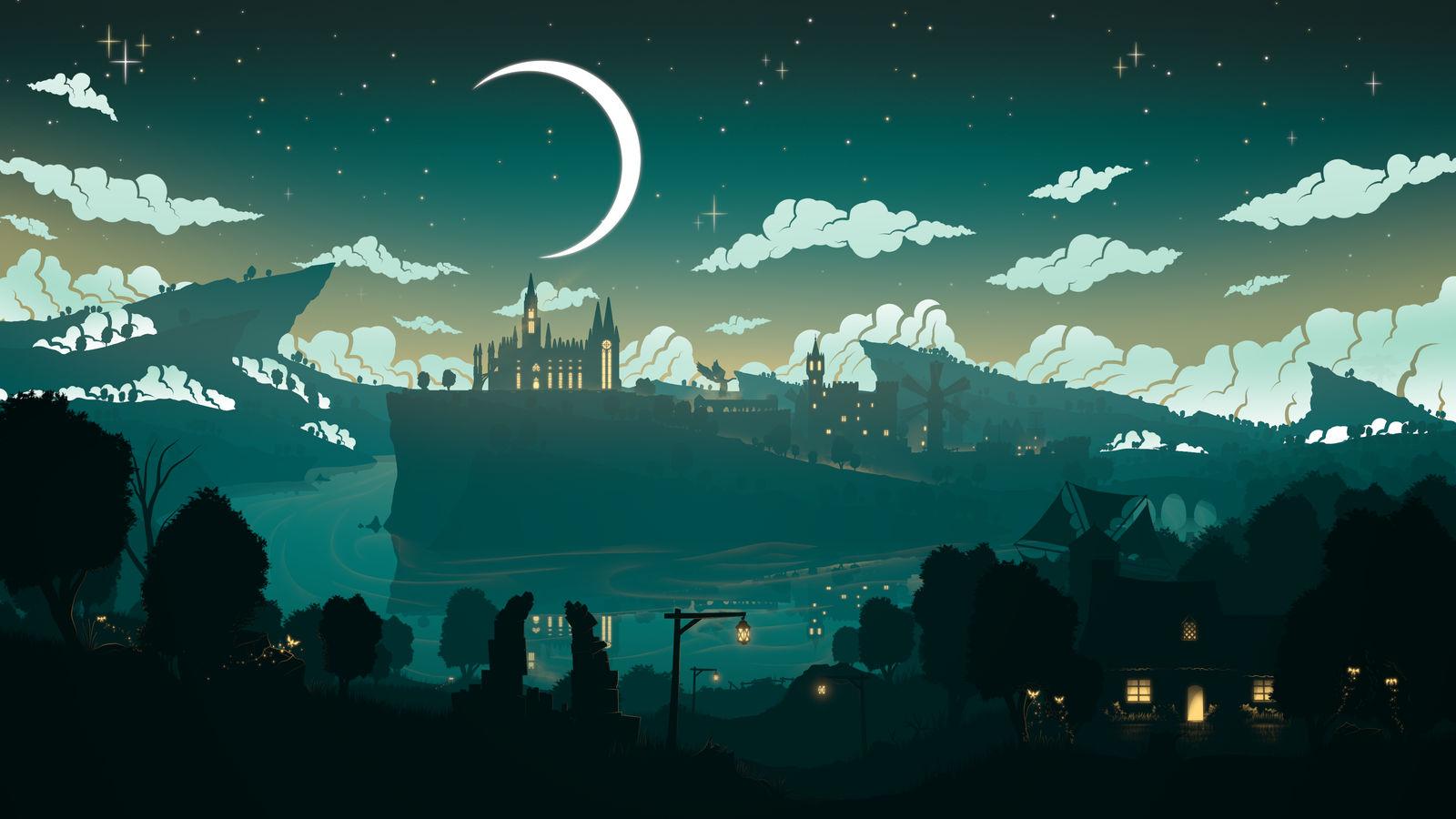 Deviant - art : une source d'inspiration pour nos univers ? - Page 3 Moon_over_monstadt_by_sevenics_dend7ok-fullview.jpg?token=eyJ0eXAiOiJKV1QiLCJhbGciOiJIUzI1NiJ9.eyJzdWIiOiJ1cm46YXBwOjdlMGQxODg5ODIyNjQzNzNhNWYwZDQxNWVhMGQyNmUwIiwiaXNzIjoidXJuOmFwcDo3ZTBkMTg4OTgyMjY0MzczYTVmMGQ0MTVlYTBkMjZlMCIsIm9iaiI6W1t7ImhlaWdodCI6Ijw9OTAwIiwicGF0aCI6IlwvZlwvNWFiOTQ5ZDktZDM2NS00OWQzLTk1NDctODg0NTkzZTBhMzllXC9kZW5kN29rLWQwNzUxMjk2LWY2MTktNDc3OC04ZTgwLWQzYWUxMTRjNDUzZS5wbmciLCJ3aWR0aCI6Ijw9MTYwMCJ9XV0sImF1ZCI6WyJ1cm46c2VydmljZTppbWFnZS5vcGVyYXRpb25zIl19