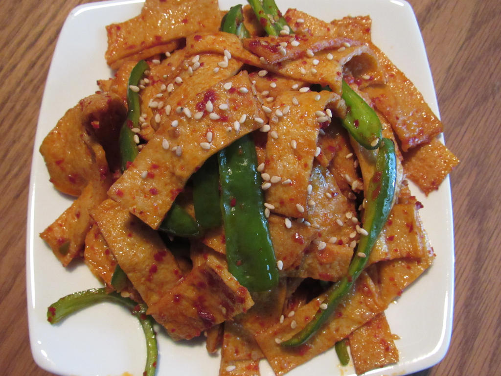 Fish Cake Boggeum Korean Side Dish By Foodfrommyworld On Deviantart