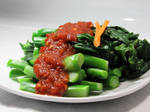 Taiwan Styled Broccoli Dish Waterfall by FoodFromMyWorld
