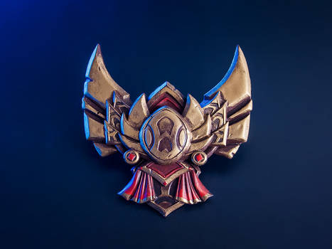 League of Legends Gold Badge Pin