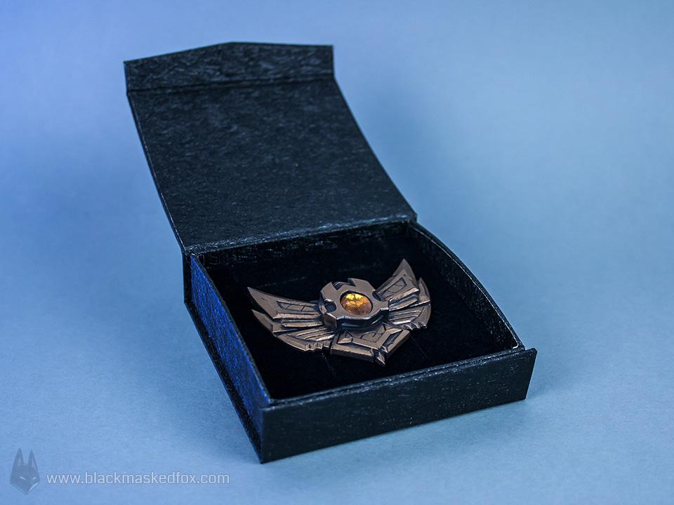 League of Legends Bronze Badge Pin by blackmaskedfox