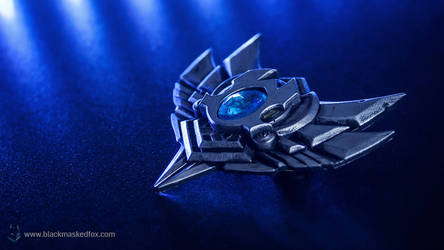 League of Legends Silver Badge Pin by blackmaskedfox
