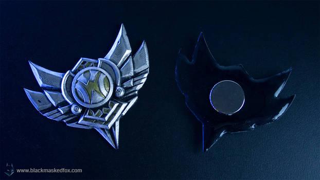 League of Legends Silver Badge Magnet