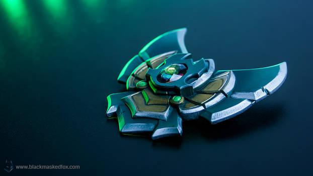 League of Legends Platinum Badge Pin