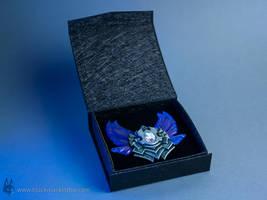 League of Legends Diamond Badge - hand made by blackmaskedfox