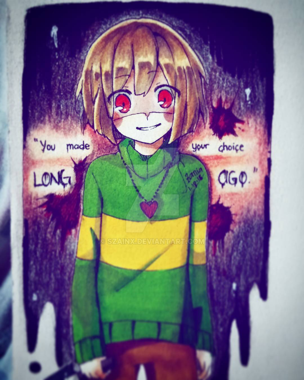 You made your choice LONG AGO by Szainx