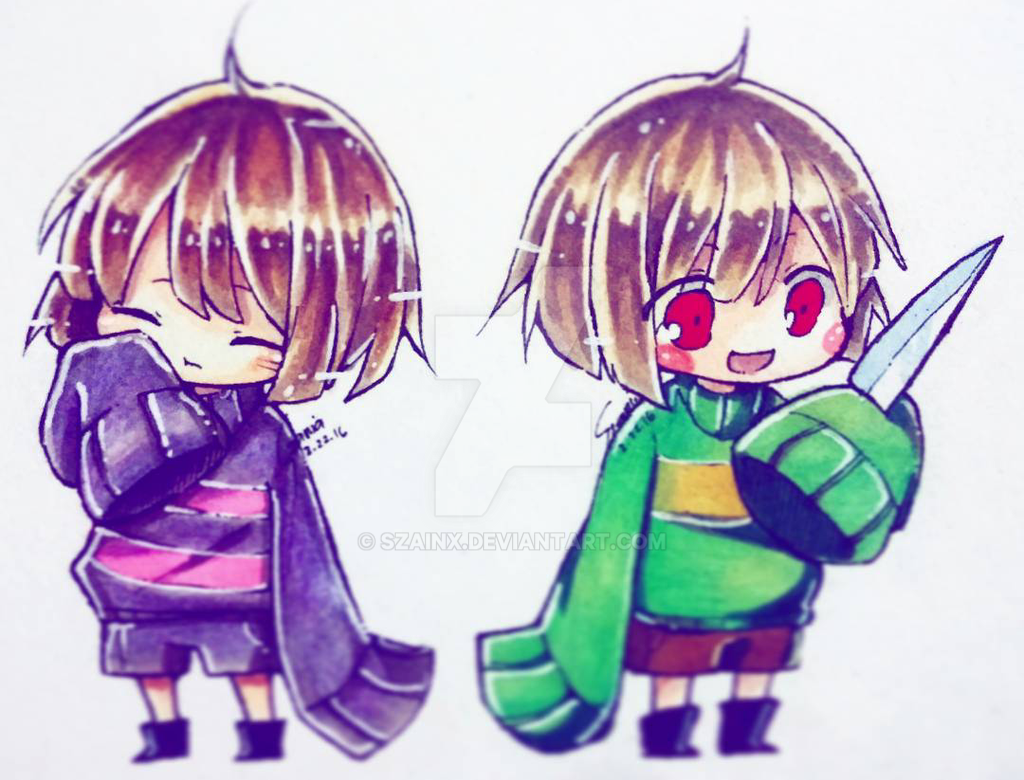 How to Draw FRISK from UNDERTALE - YouTube