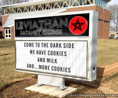 funny church sign by archenemies32
