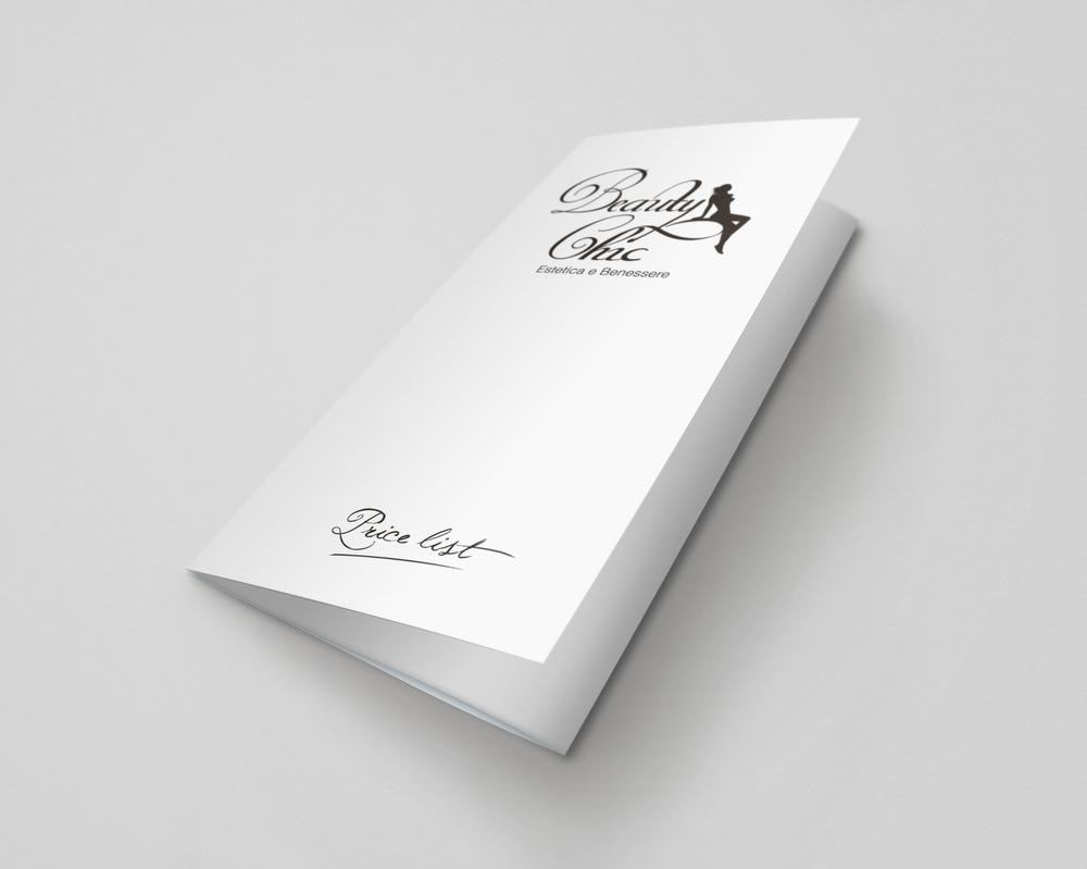 Listino prezzi per centro estetico by GrazioliDesign