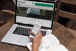 Sito web per concessionaria d'auto by GrazioliDesign