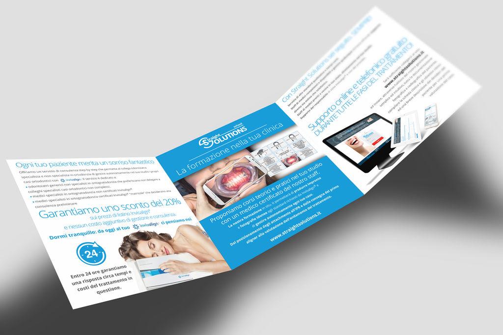 Brochure per azienda odontoiatrica by GrazioliDesign