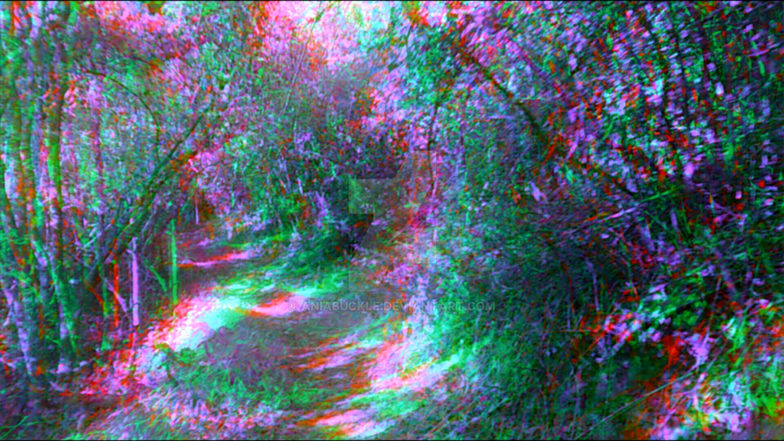 trippy forest 1 by aniabuckle on deviantart