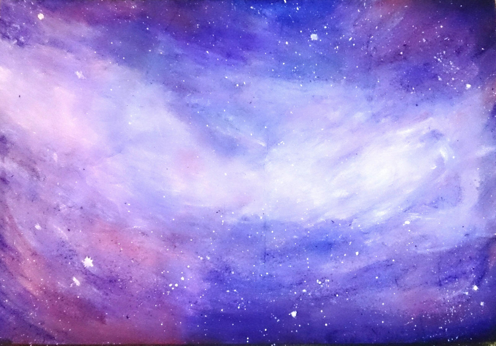 Stars + space paint background by AniaBuckle on DeviantArt