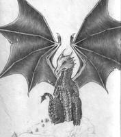 Black Dragon by SaWi93