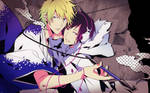 DRRR - Psyche and Tsugaru by SaWi93