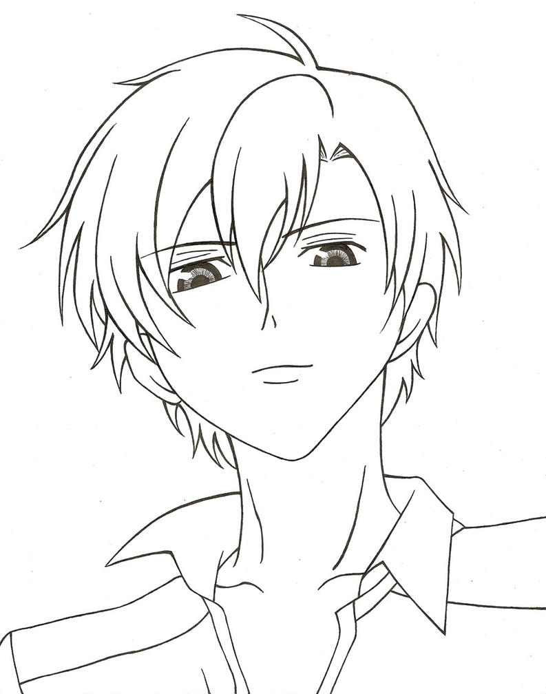 ouran highschool coloring pages - photo#23
