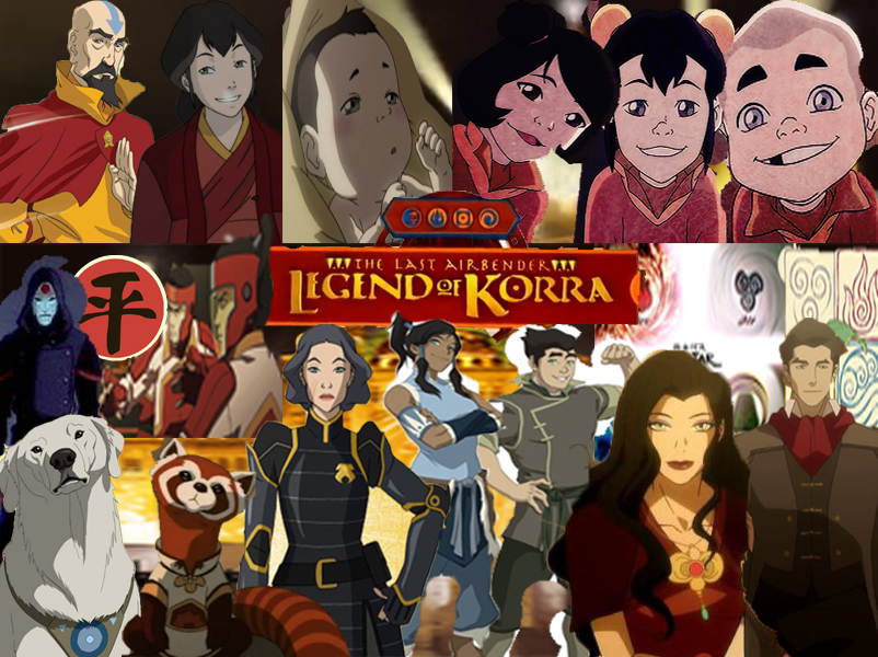 The characters of the legend of korra wallpaper by thefamousstory voltagebd Images