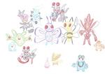 Lots of Pokemon by Kageyoake