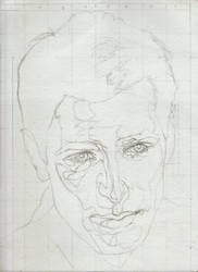 Andrew Rogers line drawing