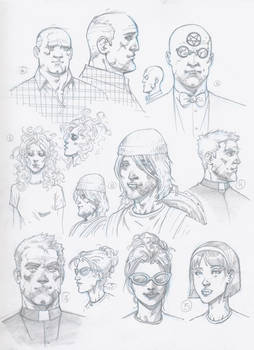 The Faustian character sketches 1