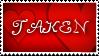 Taken stamp by deviantStamps
