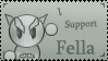 I support fella stamp by deviantStamps