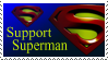 Support Superman Stamp by deviantStamps