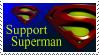 Support Superman Stamp by deviantStamps