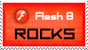 Flash 8 rocks stamp by deviantStamps