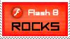 Flash 8 rocks stamp by deviantStamps