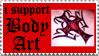Body Art Stamp II by deviantStamps