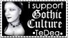 Gothic culture Stamp
