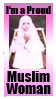 Proud muslim woman stamp by deviantStamps