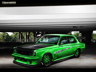 Nissan Skyline '72 by Geza60