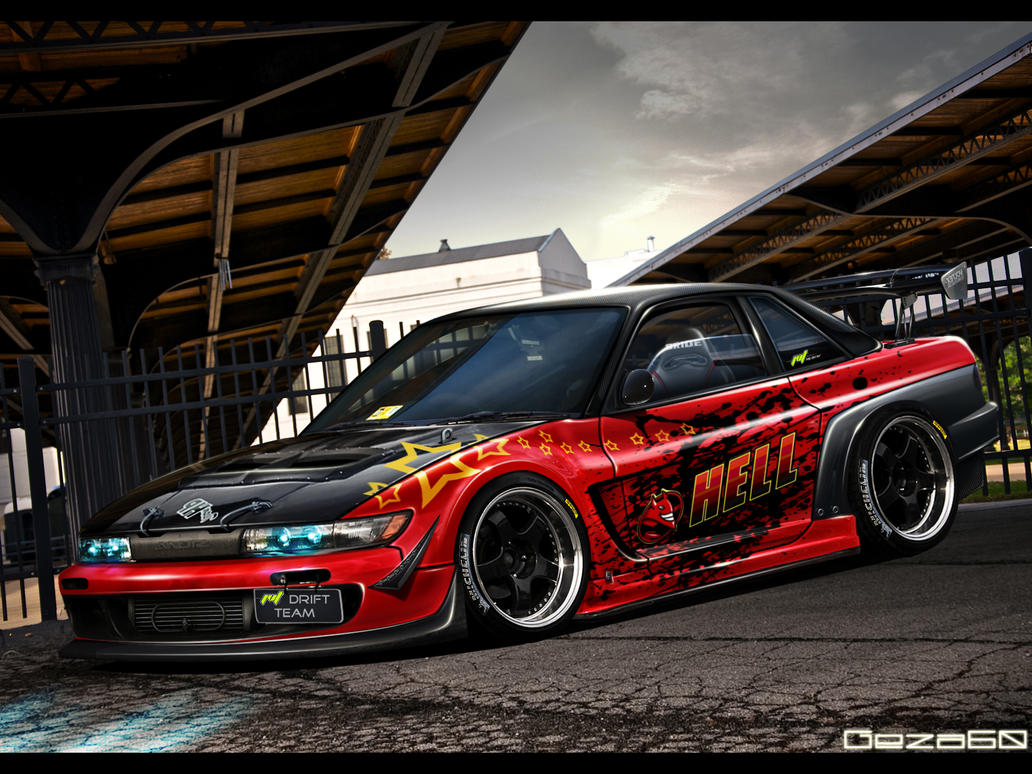 HELL Nissan Silvia by Geza60