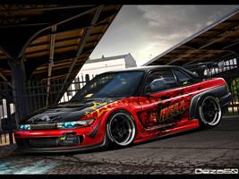 HELL Nissan Silvia by Geza60