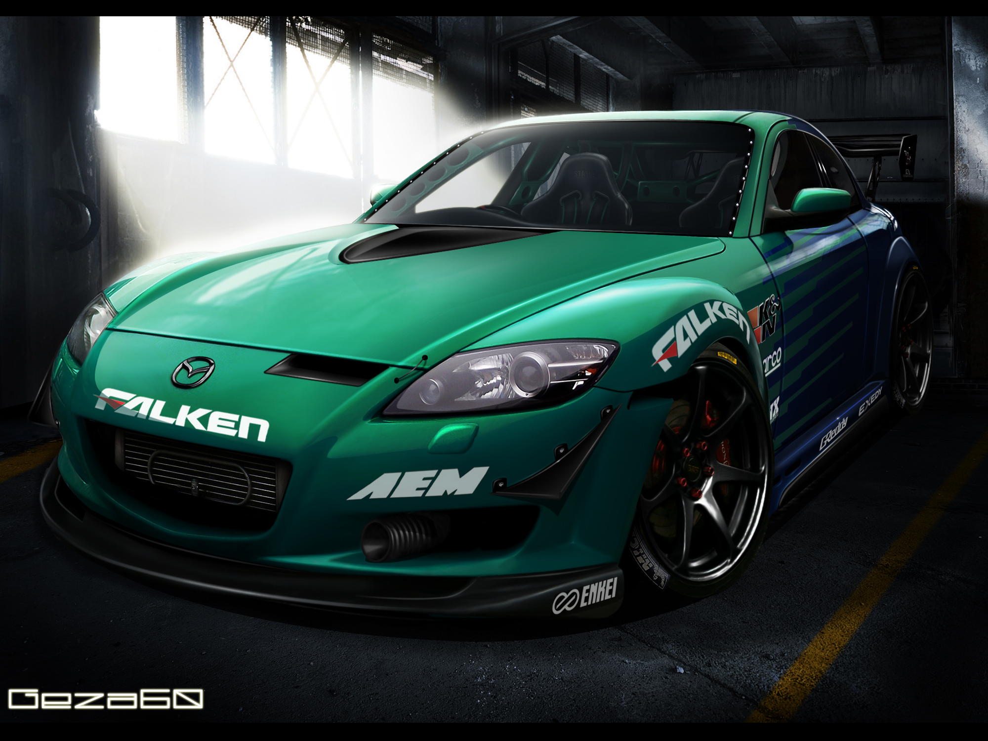 Mazda Rx8 Team Falken by Geza60
