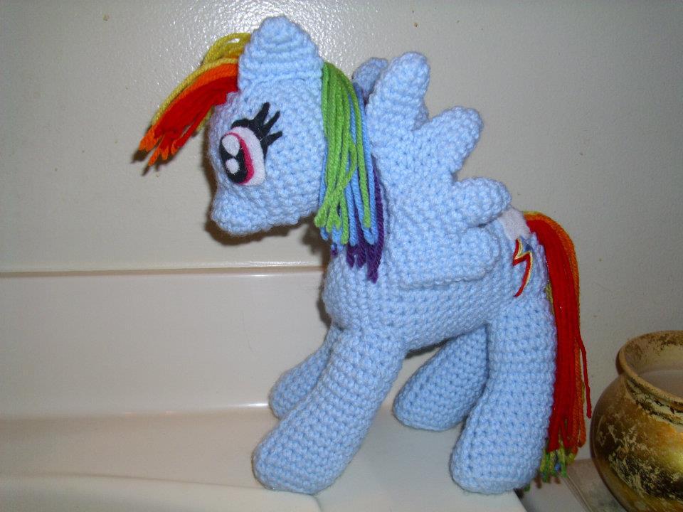 My Little Pony Rainbow Dash Amigurumi by Chandria03 on ...